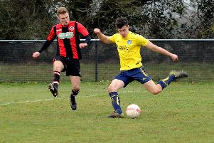 Sidlesham v AFC Varndeanians action / Picture by Kate Shemilt