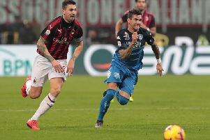 Alessio Romagnoli (Photo by Emilio Andreoli/Getty Images)