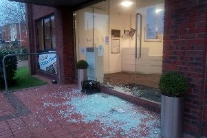 Springfield House in Horsham was targeted by the burglars