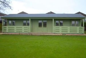 New clubhouse at Littlehampton Croquet Club