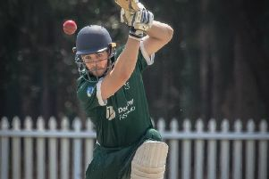 Keymer and Hassocks' new overseas player Jesse Moffat. Picture courtesy of Joe Isted.