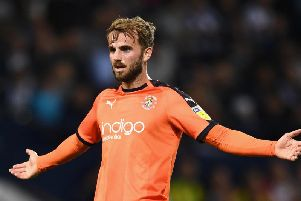 Andrew Shinnie of Luton Town  (Photo by Clive Mason/Getty Images)