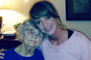 Joanna Arnold is set to run the London Marathon in memory of her grandma Muriel Webster SUS-190804-134824001