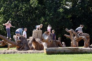 ks180433-6  Mid Easebourne Park Opening phot kate''Children enjoying the park.ks180433-6 SUS-180209-201912008