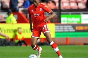 Crawley Town midfielder Matty Willock has returned back to Manchester United after completing his loan. Picture by Steve Robards