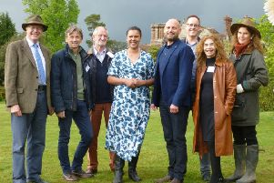 From left: Andrew John Stephenson Clarke, Jeremy Moulsdale, Bernard Miles Pearson, Juliet Sargeant, Tom Acott from 1st Central, Andrew Loin, Teresa Wells and Nicola Godden. All pictures by Lawrence Smith