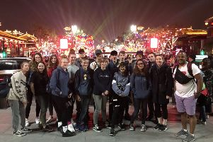 Students experienced Chinese culture