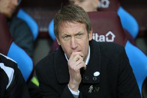 New Brighton manager Graham Potter. Picture by Getty Images