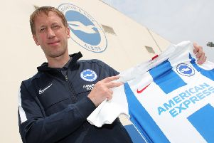 Graham Potter. Picture: Paul Hazlewood/BHAFC