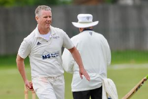 Paul O'Sullivan smashed a brilliant century in Broadwater's first-ever Division 3 West win. Picture by Stephen Goodger