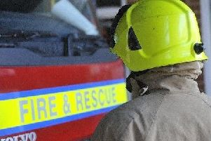 Fire service called to crash on A29