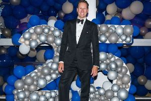 Brendan Cole added a little stardust at the awards