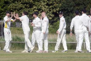 Aldwick get among the wickets at home to Goring II / Picture by Kate Shemilt