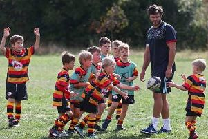 Fun for young rugby players at Harlequins camps