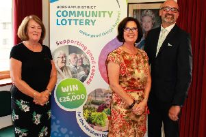 Councillor Youtan, Denise Campbell and Ben Speare at the launch event