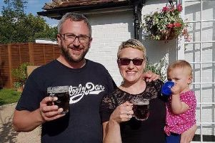 Brook and Holly with one of their daughters
