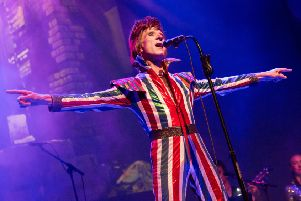 Bowie Experience. Picture by Charlie Raven