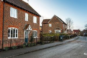 The King's Way development in Burgess Hill