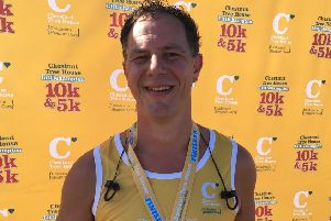 Ben Thornton took part in the Littlehampton 10k in memory of his daughter Ellie