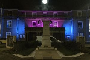 Arun District Council Civic Centre and Bognor Regis Town Hall will be illuminated in pink and blue lights to show support for Baby Loss Awareness Week 2019. SUS-190910-113751001