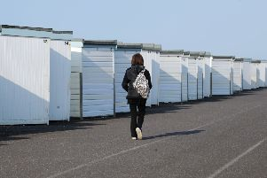 Existing Worthing beach huts