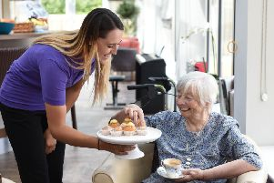 Care UK team member and resident SUS-191022-160354001