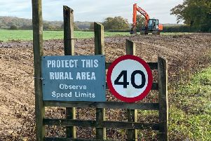 Hedgerows on land north of Horsham  have been removed to make way for development. Photo: Nick Webber  SUS-190411-115306001
