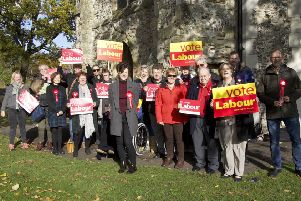 Labour launches its general election campaign for Chichester in Priory Park