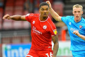 Mason Bloomfield scored for Crawley Town