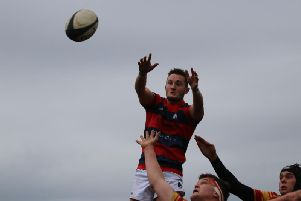 Chi claim a lineout / Picture by Alison Tanner