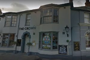 The Crown in Horsham town centre. Picture courtesy of Google Street View