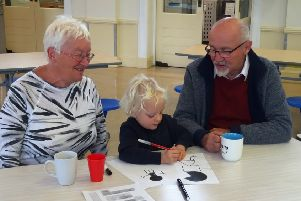 Lyndhurst Infant School staff say they value the part grandparents play in children's lives