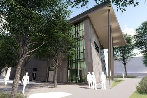 A view of how the new STEM building will look