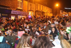 Steyning late-night Christmas shopping 2019