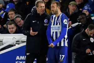 Ten of Glenn Murray's 14 Premier League appearances this season have been from the bench