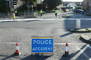 Police closed the road for most of the day after the fatal crash