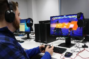 The esports degree offered at the University of Chichester is unique - and proving popular / Picture: Jordan Colborne