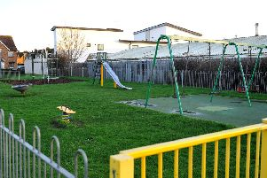 The play area in Linden Park, Littlehampton, will soon be improved. Picture: Steve Robards SR20011601