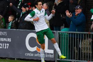 Josh Flint has been a hit at Bognor / Picture: Tommy McMillan