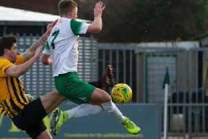 Bognor put four past Folkestone / Pictures: Tommy McMillan