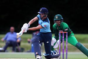 Tom Clark in action for England U19s last summer. Picture courtesy of Getty Images