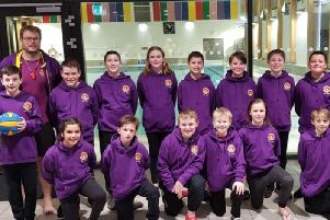 Drenched Mini Water Polo will make history at the HaBaWaBa International in June. Picture courtesy of Sara Pirks