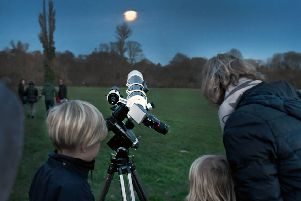 The South Downs National Park's Dark Skies Festival kicked off with the Stargazing South Downs event at Midhurst Rother College on Saturday (February 8)
