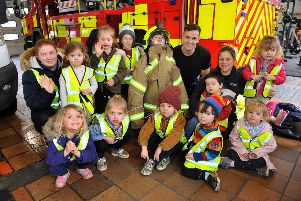 Pumpkin Patch Day Nursery at Worthing Fire Station. Pictures: Steve Robards SR20021301