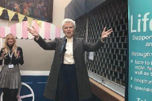 Julie Walters appeared at The Regis Centre to open this year's International Women's Day event