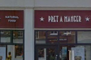 Pret a Manger said it is now operating 'mainly as a takeaway business'. Photo: Google Street View - East Street, Chichester