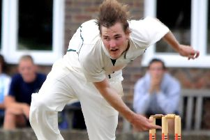 Shane Wilson-Yelverton top-scored for new leaders Lindfield in their win over previous pacesetters Hastings Priory