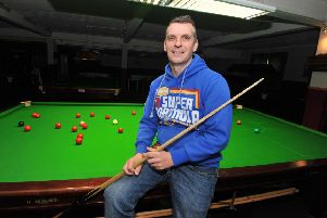 Mark Davis won the World Seniors Championship in Preston last night