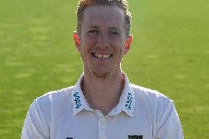 Sussex's Luke Wells hit 90 not out.'Picture by PW Sporting Photography