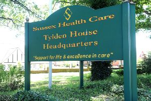 Sussex Health Care, the site of Orchard Lodge, Nr Warnham